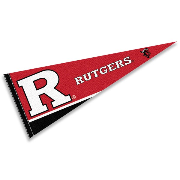 Rutgers Scarlet Knights Pennant