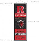 Rutgers Scarlet Knights Wall Banner and Door Scroll