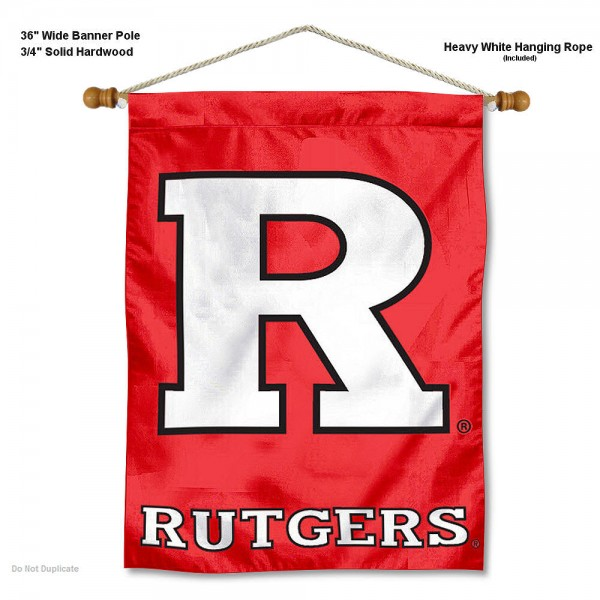 Rutgers Scarlet Knights Wall Hanging