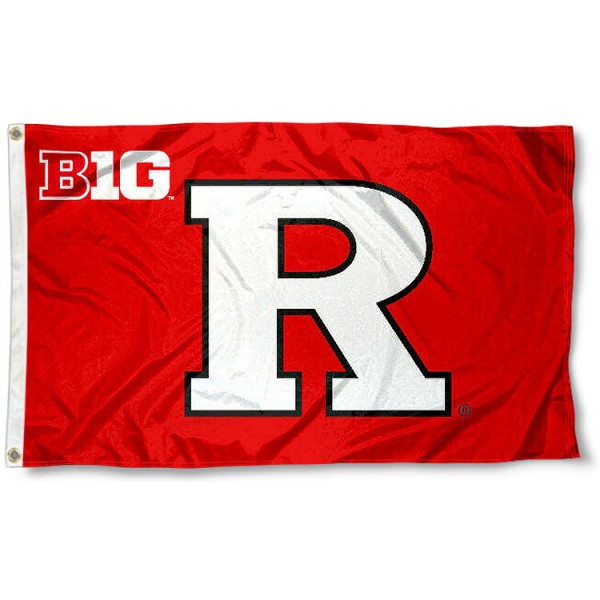 Rutgers University Big 10 Flag