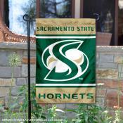 Sac State Hornets Garden Flag