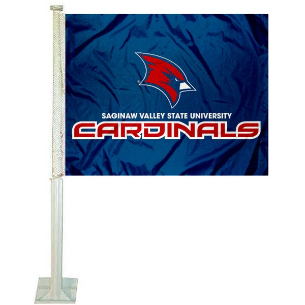 Saginaw Valley State Cardinals Car Flag