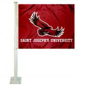 Saint Joseph's Hawks Car Flag