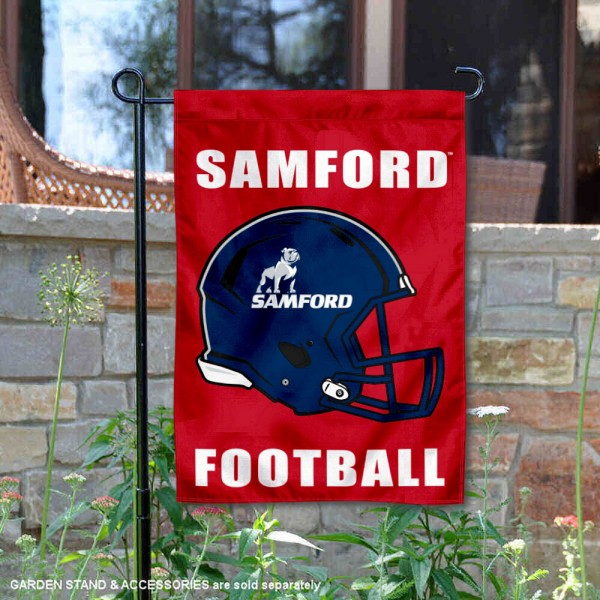 Samford Bulldogs Football Garden Flag