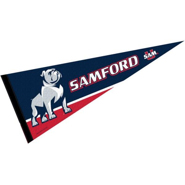 Samford Bulldogs Pennant