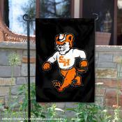 Sammy Bearkat Double Sided Garden Flag