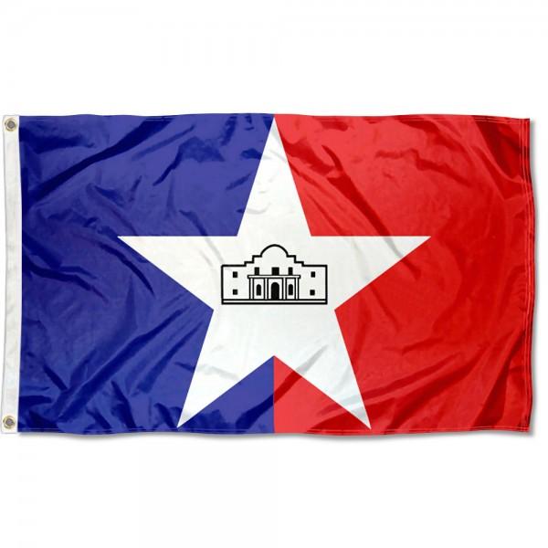 San Antonio City 3x5 Foot Flag