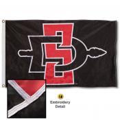 San Diego State Aztecs Appliqued Nylon Flag