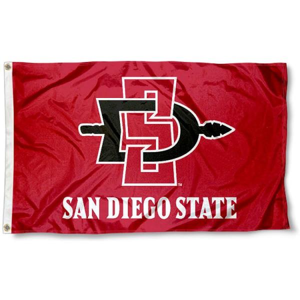 San Diego State Aztecs Flag