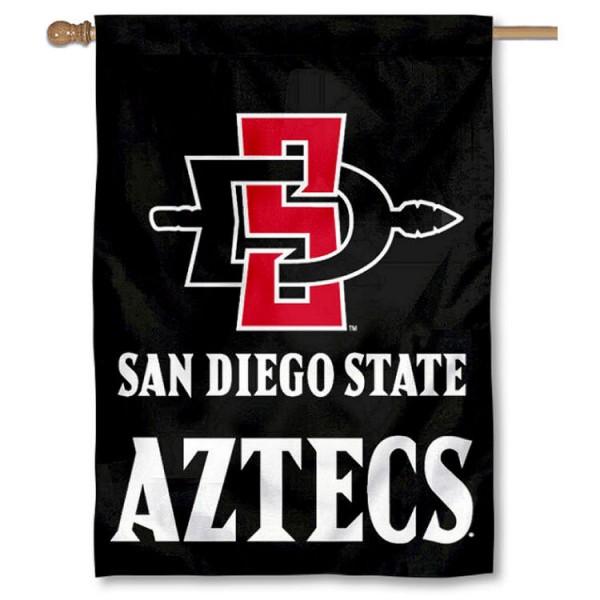 San Diego State Aztecs House Flag
