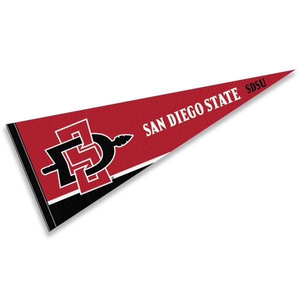 San Diego State Aztecs Pennant And Pennants For San Diego