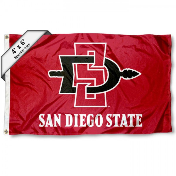 San Diego State SDSU 4'x6' Flag