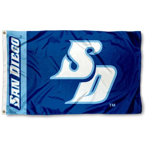 San Diego Toreros SD Logo Flag