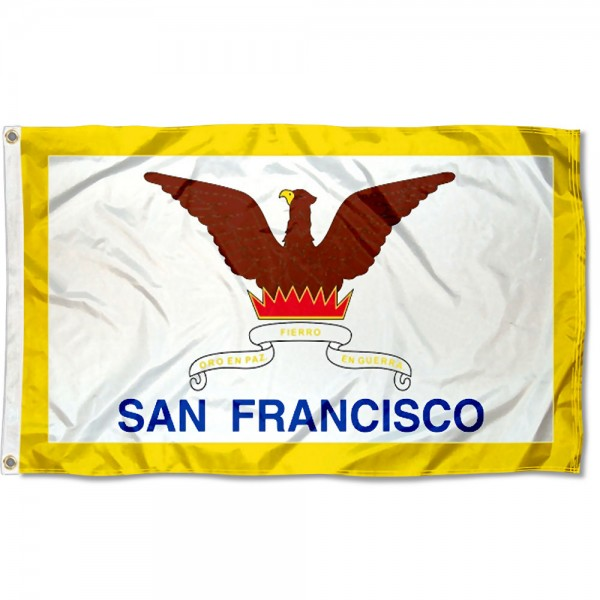 San Francisco City 3x5 Foot Flag