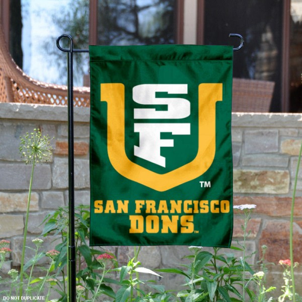 San Francisco Dons Garden Flag