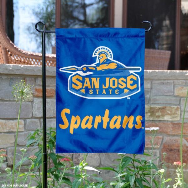 San Jose State Garden Flag