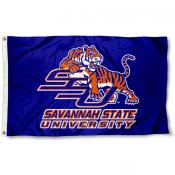 Savannah State Blue Flag
