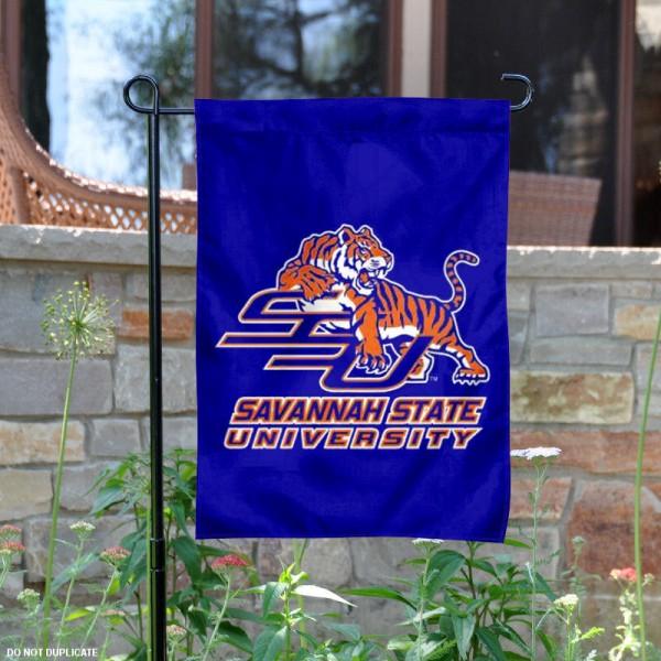 Savannah State Tigers Garden Flag