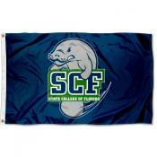SCF Manatees Logo Outdoor Flag