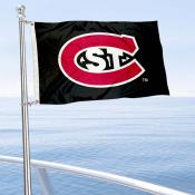 SCSU Huskies Boat Nautical Flag