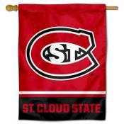 SCSU Huskies House Flag