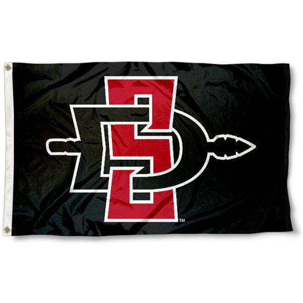 SDSU Aztecs Logo Flag
