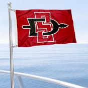 SDSU Aztecs Mini Flag