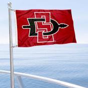 SDSU Aztecs Mini Flag