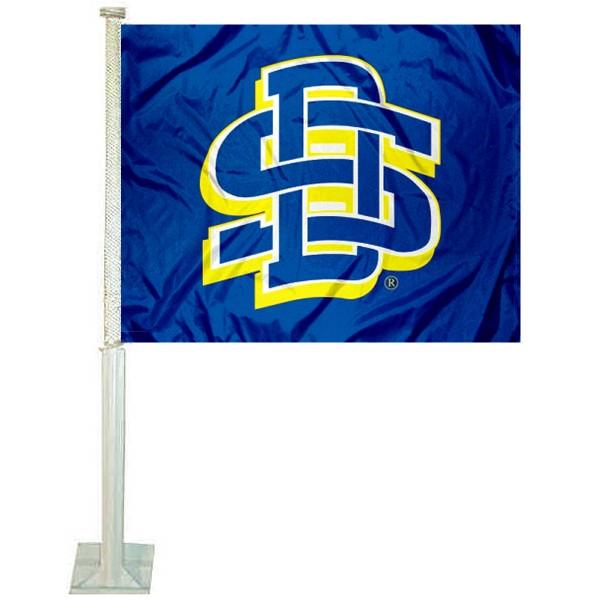 SDSU Jackrabbits Car Flag