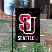 Seattle University Redhawks Garden Flag