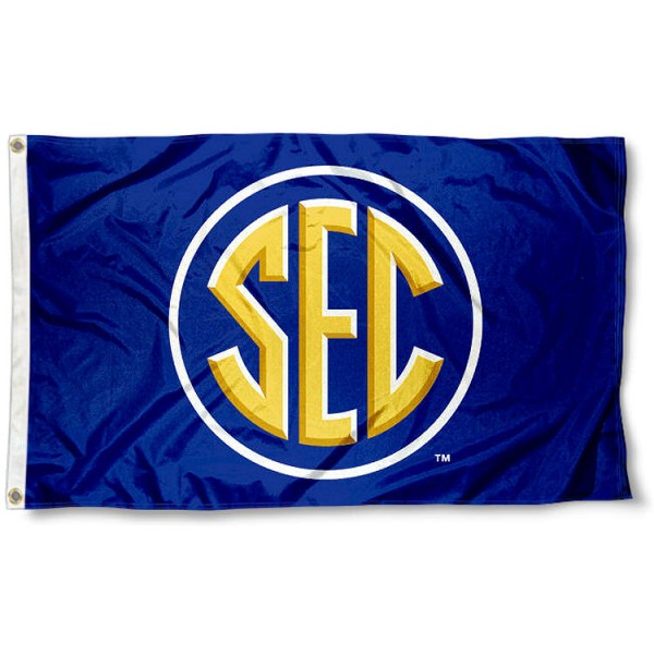 sec flag your southeastern conference flag banner and