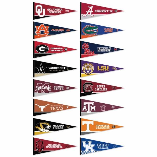 SEC Pennant Set