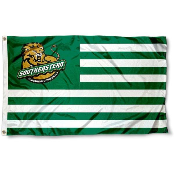 SELU Lions Nation Flag