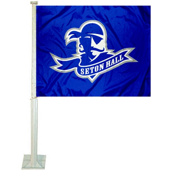 Seton Hall Pirates Car Flag