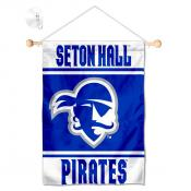 Seton Hall Pirates Window Hanging Banner with Suction Cup