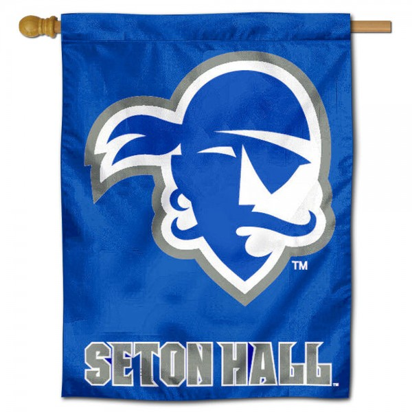 Seton Hall SHU Pirates House Flag