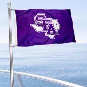 SFA Lumberjacks Boat Nautical Flag