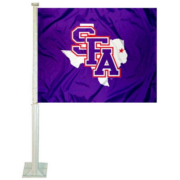 SFA Lumberjacks Car Flag