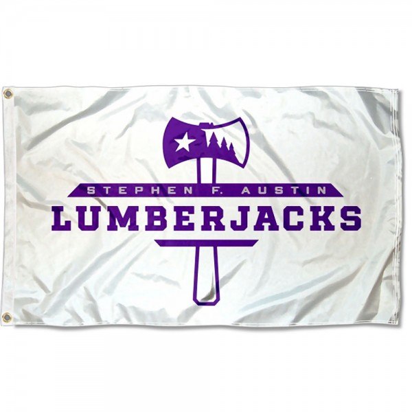 SFA Lumberjacks White Flag