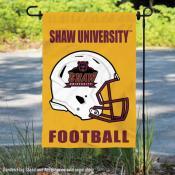 Shaw U Bears Football Garden Flag