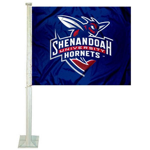 Shenandoah Hornets Car Flag