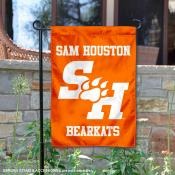 SHSU Bearkats Double Sided Garden Flag