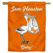 SHSU Bearkats New Baby Banner