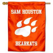 SHSU Bearkats New Paw House Flag