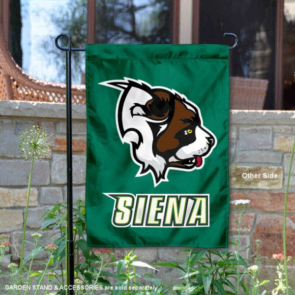 Siena College 2 Ply Double Sided Garden Flag
