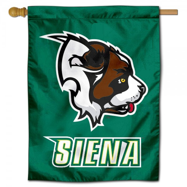 Siena College Banner Flag