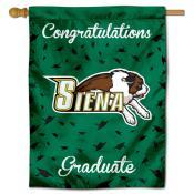 Siena College Graduation Banner