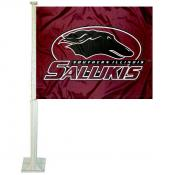 SIU Salukies Car Flag