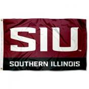 SIU Salukies New Logo Flag