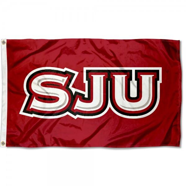 SJU Hawks Flag